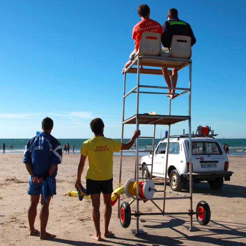Ouverture des plages surveillées – Été 2018